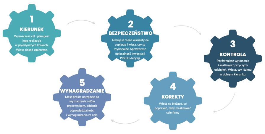 Dlaczego plan finansowy wfirmie jest ważny? - infografika